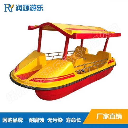 画舫脚踏船 旅游观光脚踏船